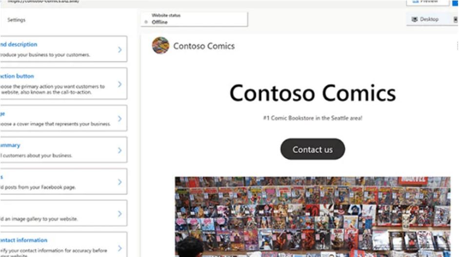 Ücretsiz Siteler Oluşturabileceğiniz Microsoft Digital Marketing Center Duyuruldu