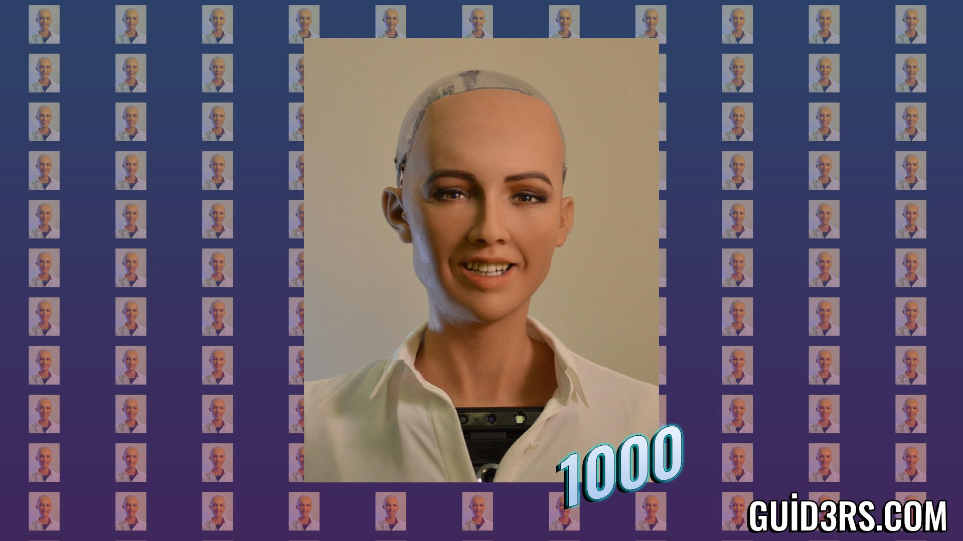 BİNLERCE SOPHİA GELİYOR! - Robot Sophia