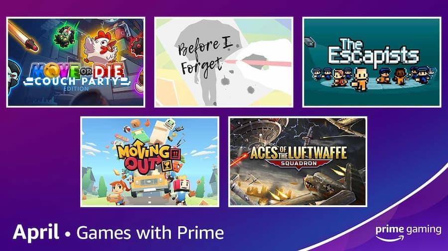 Prime Gaming ücretsiz oyunlar