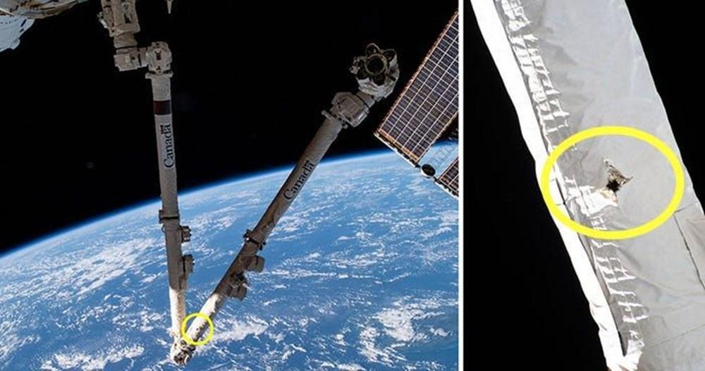 ISS'te Enkaz Paniği