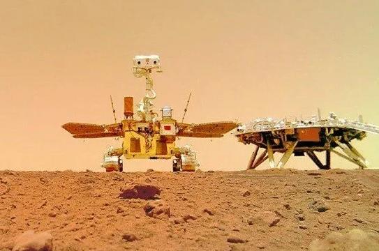 Zhurong'un, Mars'tan İlettiği Görüntüler Yayınlandı