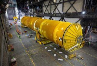 NASA'dan Dev Roket Projesi