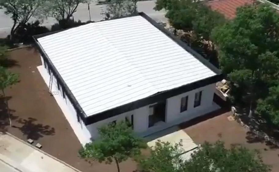 Türkiye'de İlk Kez Üç Boyutlu Yazıcı Kullanılarak Ev Yapıldı