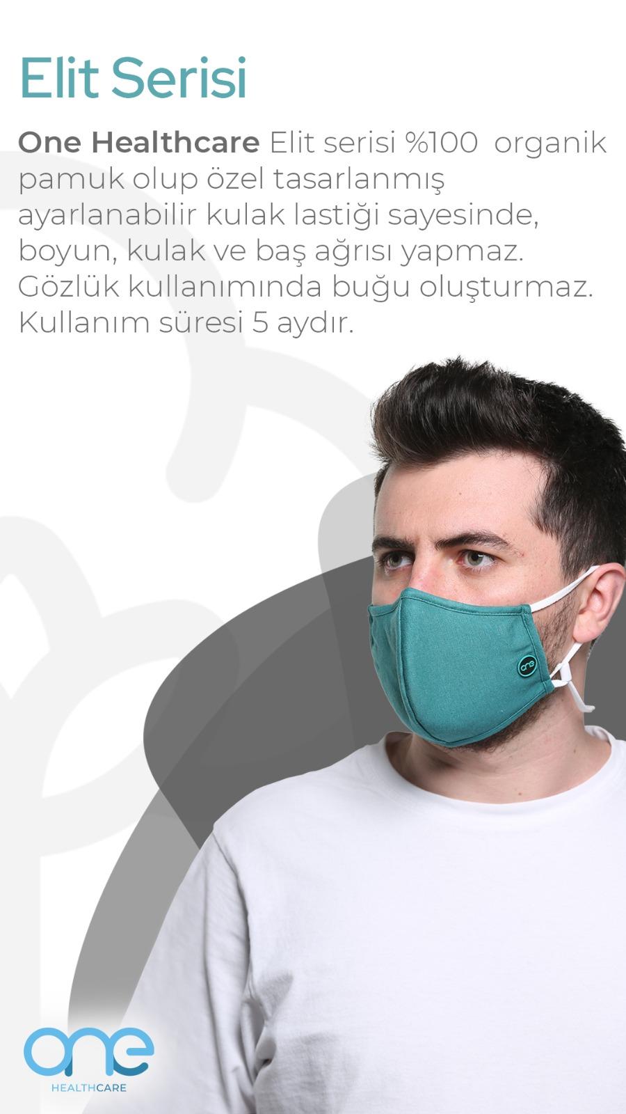 Türkiye'de virüsü engelleyen tek maske - One Maske