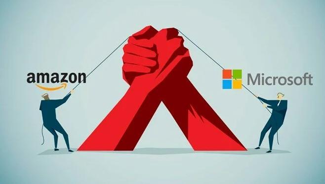 Microsoft ve Amazon yeniden karşı karşıya